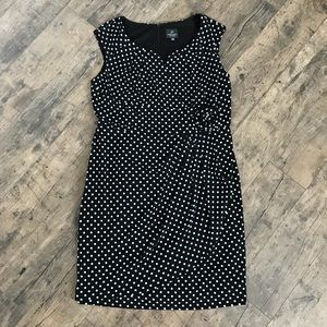 Adrianna Papell Polka Dot Dress
